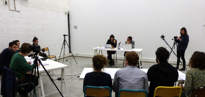 ENSBA Lyon - Workshop avec Aliocha Imhoff et Kantuta Quirós