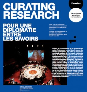 Curating research by Aliocha Imhoff & Kantuta Quiros - L'Art même n°64