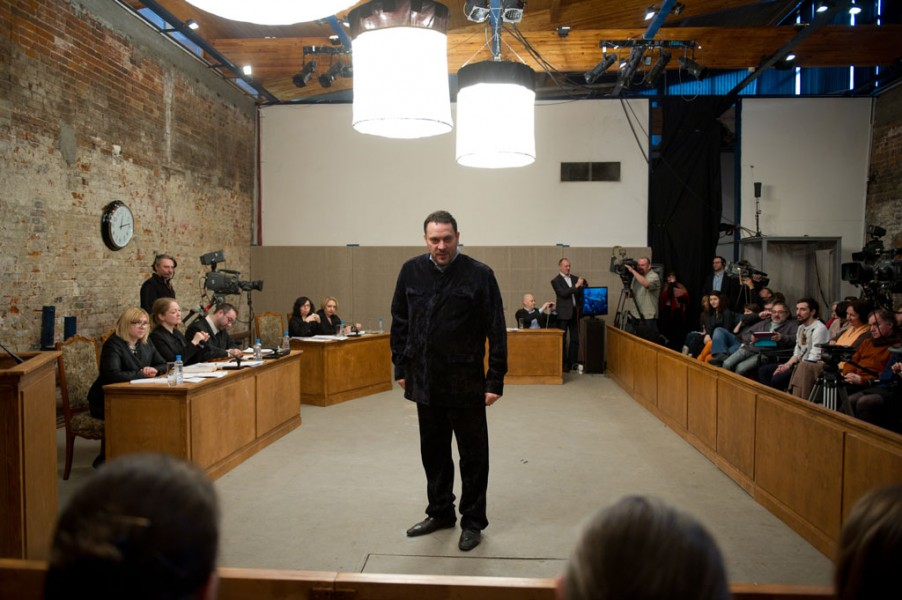 Milo Rau, The Moscow Trials (2014, 85 min)